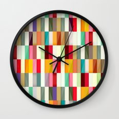 Stripes Wall Clock