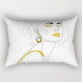 In Lemon Rectangular Pillow