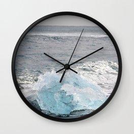 Resting Ice Wall Clock