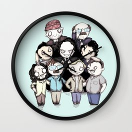 Serial Killers Wall Clock