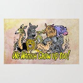 Baby Animals Rug