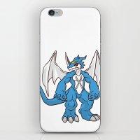 digimon iPhone & iPod Skins featuring Di-Di-Digimon! by cartoonjunkie