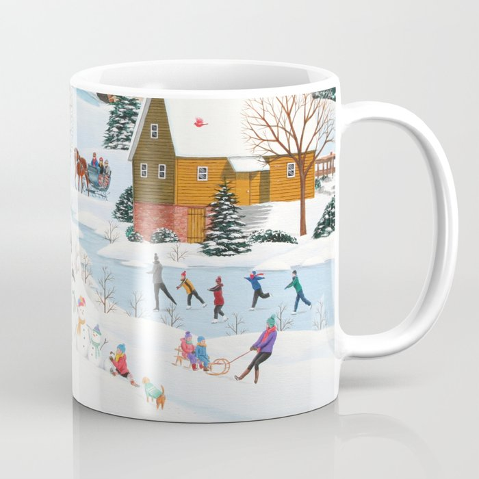 Snow Family Coffee Mug