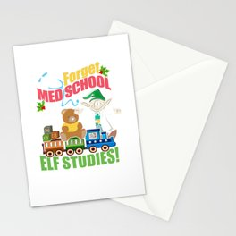 Medical School Funny Christmas Stationery Cards