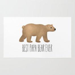 Best Papa Bear Ever Rug
