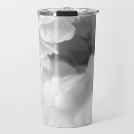 Blured white peonies Travel Mug