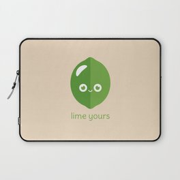 Lime Yours Laptop Sleeve