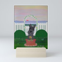 Tis the Last Rose of Summer Mini Art Print