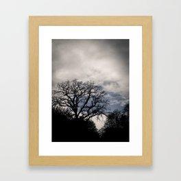 Breaking Through the Storm Framed Art Print