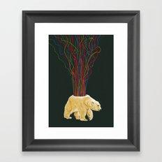 Magnetospheric S.O.S. Framed Art Print