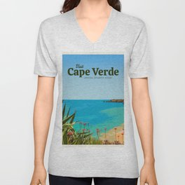 Visit Cape Verde Unisex V-Neck