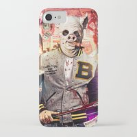 hotline miami iPhone & iPod Cases featuring Night Out: Hotline Miami by GiancarloVargas