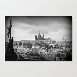 View from Charles Bridge Canvas Print