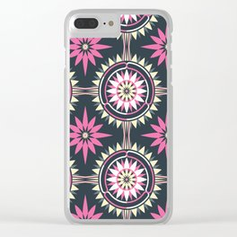 Daisy Chain (Patterned) Clear iPhone Case
