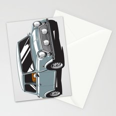 Mini Cooper Car - Gray Stationery Cards