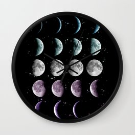 Moon Phase Wall Clock