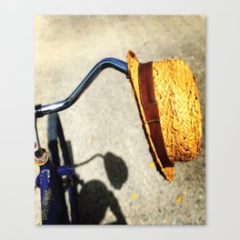BicyHat Canvas Print