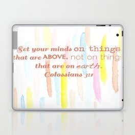 On thing above - illustration Laptop & iPad Skin
