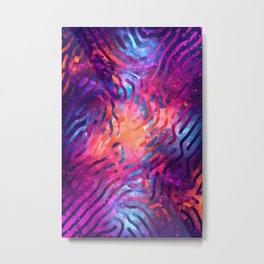 Artistic XCIV - Patterned Nebula Metal Print