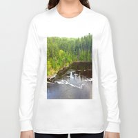 minnesota Long Sleeve T-shirts featuring Minnesota Daybreak by JayKay