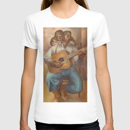 African American Masterpiece 'Goodnight Irene' by Charles White T-shirt