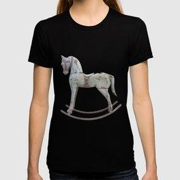 Vintage rocking horse - Toy Photography #Society6 T-shirt