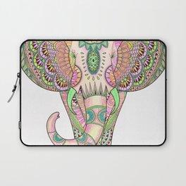 Mandala elephant psicodelic Laptop Sleeve
