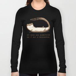 Deskweasel Long Sleeve T-shirt