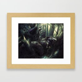 GODDESS OF HARVEST Framed Art Print