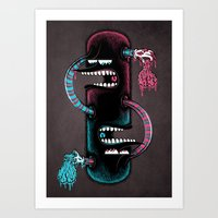 twins Art Prints featuring Twins by Mike Friedrich
