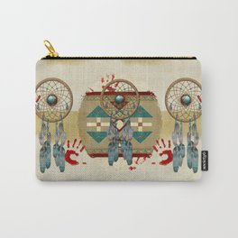 Catching Spirit Native American Carry-All Pouch