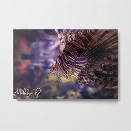 Fish Rave Metal Print
