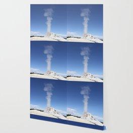 White Dome Eruption Wallpaper