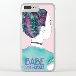 babe Clear iPhone Case