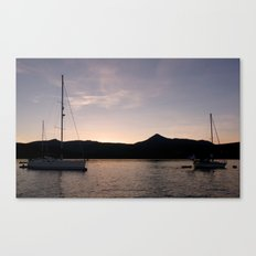 The Last Rays Canvas Print