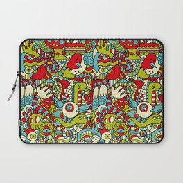 Monsters Party Laptop Sleeve