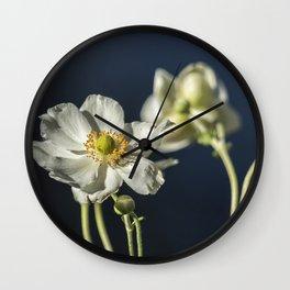 Graceful Anemones, No. 1 Wall Clock