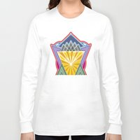 crown Long Sleeve T-shirts featuring Crown by Losal Jsk