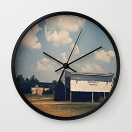 Gideon Grain Company Wall Clock