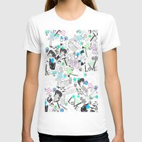 cartoon T-shirts featuring Cartoon Pattern by Eduardo Doreni