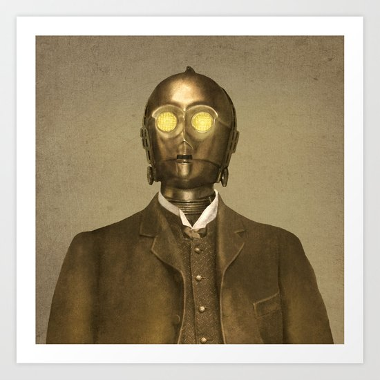 Baron Von Three PO - square format Art Print