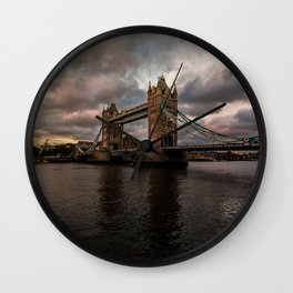 London, Tower Bridge Wall Clock
