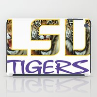 decal iPad Cases featuring LSU NEW DECAL by The Greedy Fox
