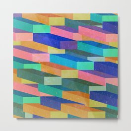 Colorful boxes Metal Print