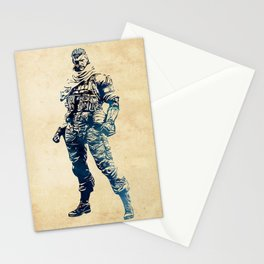 Venom Snake - Metal Gear Solid Stationery Cards