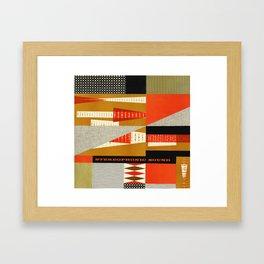 STEREOPHONIC SOUND Framed Art Print