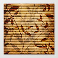 bamboo Canvas Prints featuring Bamboo by Robin Curtiss
