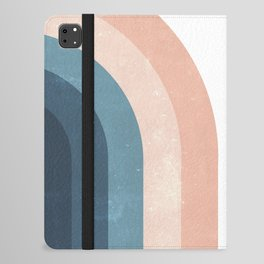 70s Rainbow iPad Folio Case