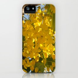 YELLOW SUMMER iPhone Case