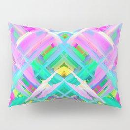 Colorful digital art splashing G473 Pillow Sham